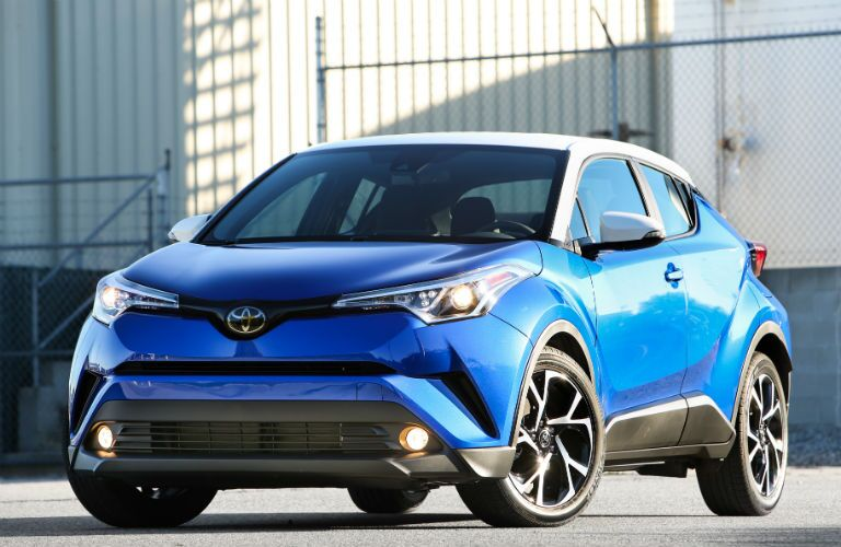 2018 Toyota C-HR Exterior Driver Side Front Angle