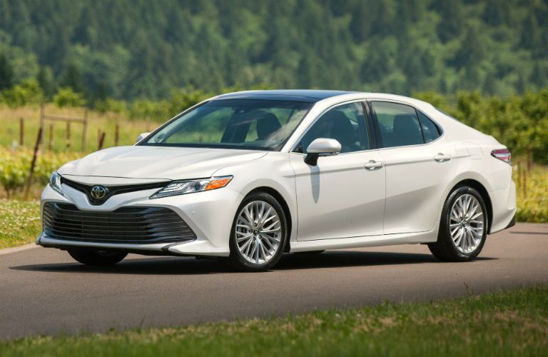 2018 Toyota Camry Exterior Driver Side Front Angle