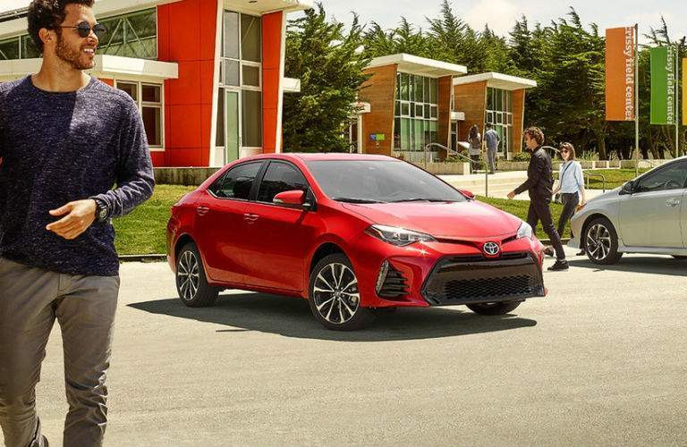 2018 Toyota Corolla Exterior Front Profile