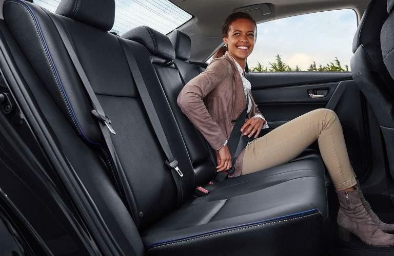 2018 Toyota Corolla Interior Rear Seat