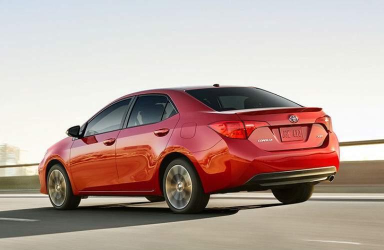 2018 Toyota Corolla Exterior Rear Profile