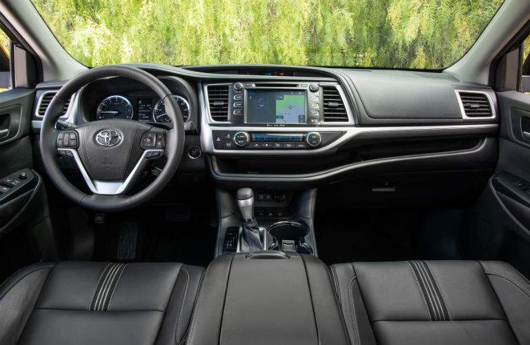 2018 Toyota Highlander Interior Cabin Dashboard