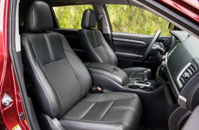 2018 Toyota Highlander Interior Cabin Front Seat