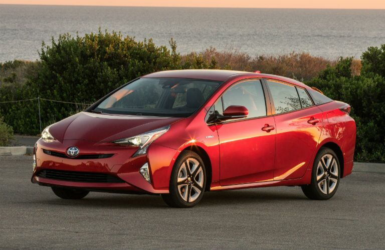 2018 Toyota Prius Exterior Driver Side Front Angle