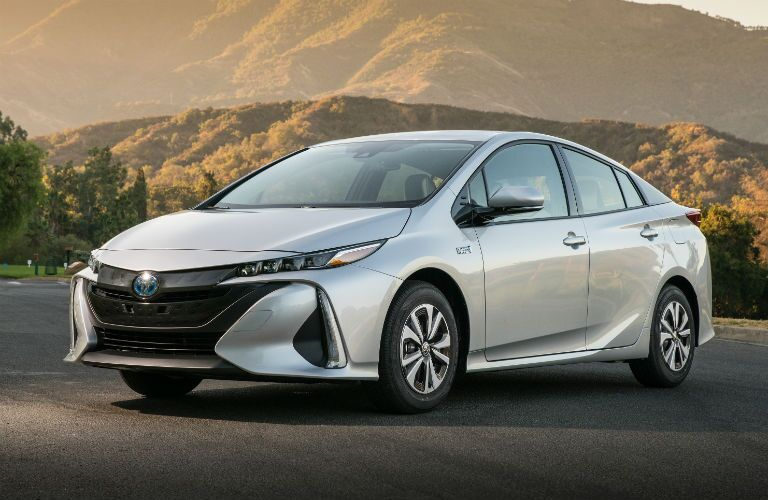 2018 Toyota Prius Prime Exterior Driver Side Front Angle