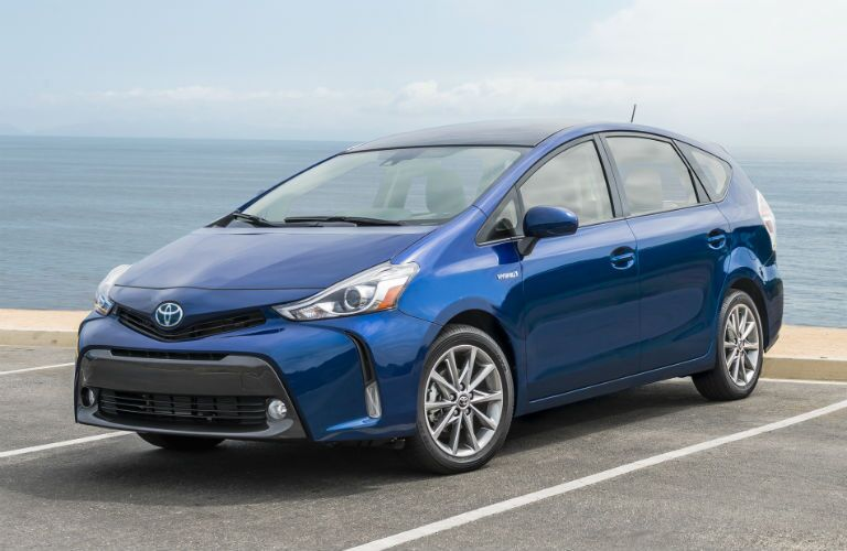 2018 Toyota Prius v Exterior Driver Side Front Angle