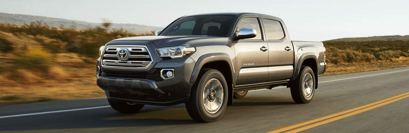 2018 Toyota Tacoma Exterior Driver Side Front Profile