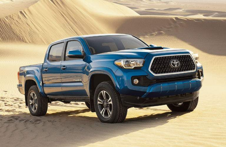 2018 Toyota Tacoma Exterior Passenger Side Front Profile