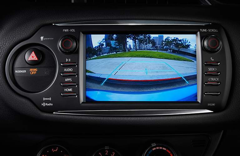 2018 Toyota Yaris Technology Features Backup Camera