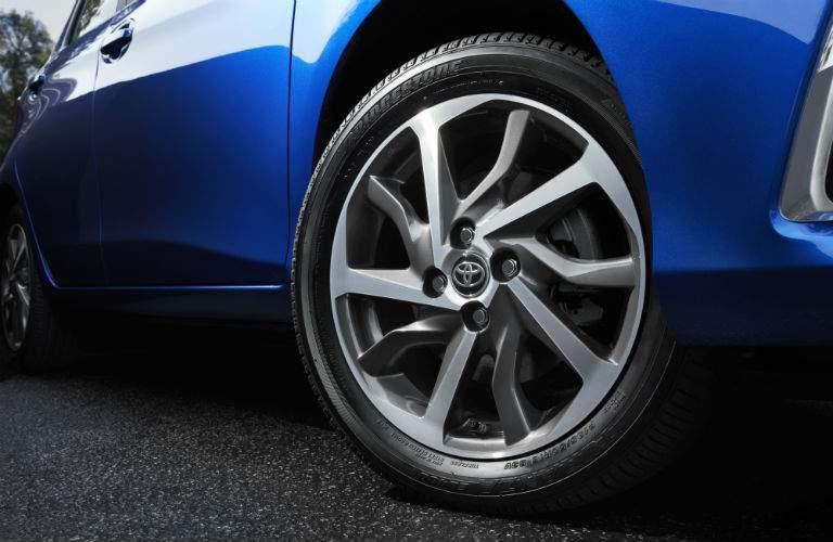 2018 Toyota Yaris Exterior Front Wheel