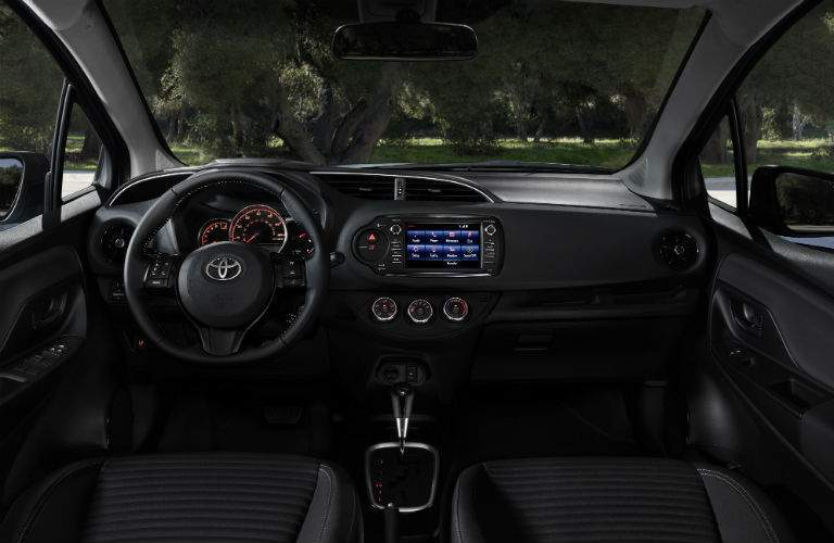2018 Toyota Yaris Interior Cabin Dashboard
