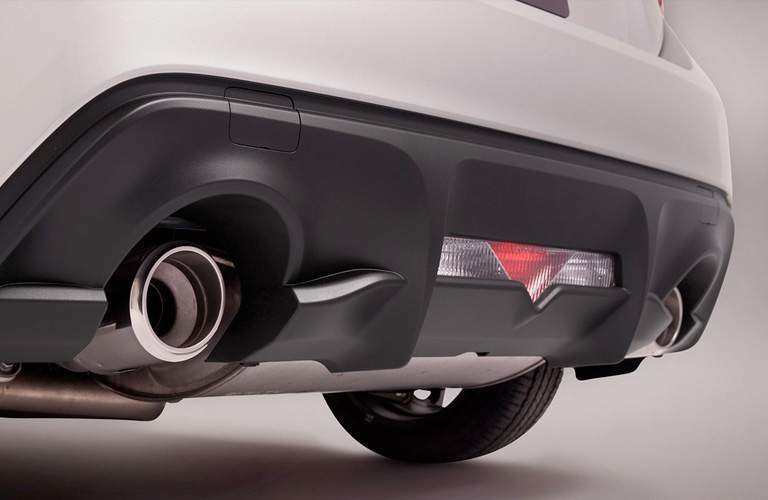 2018 Toyota 86 Exterior Dual Exhaust Pipes