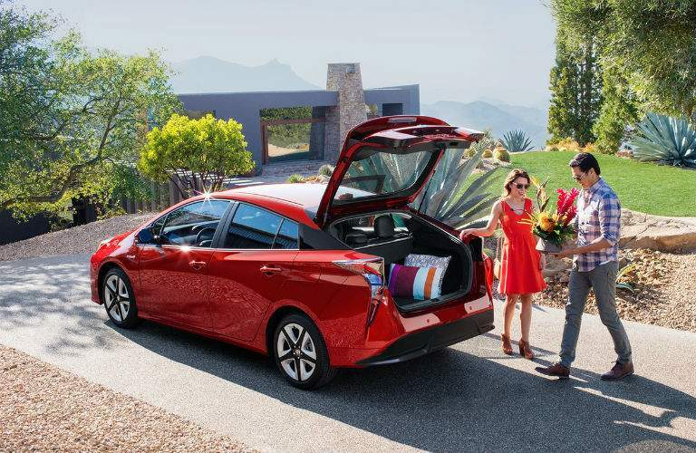 2018 Toyota Prius Exterior Driver Side Rear Tailgate Open