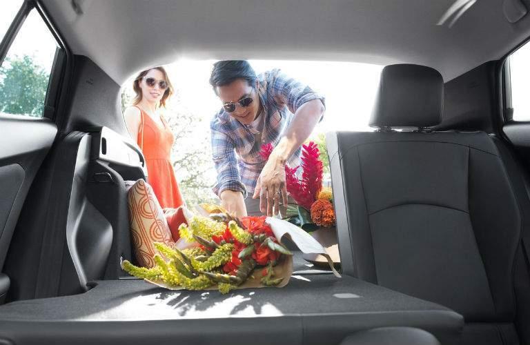 2018 Toyota Prius Interior Cabin Tailgate Open