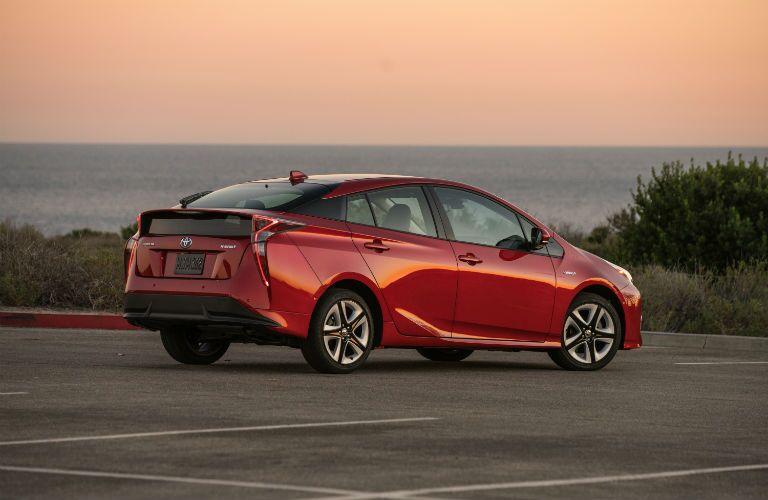 2018 Toyota Prius Exterior Passenger Side Rear Profile