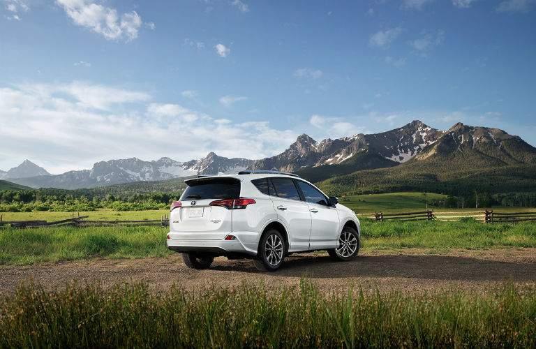2018 Toyota RAV4 Exterior Passenger Side Rear