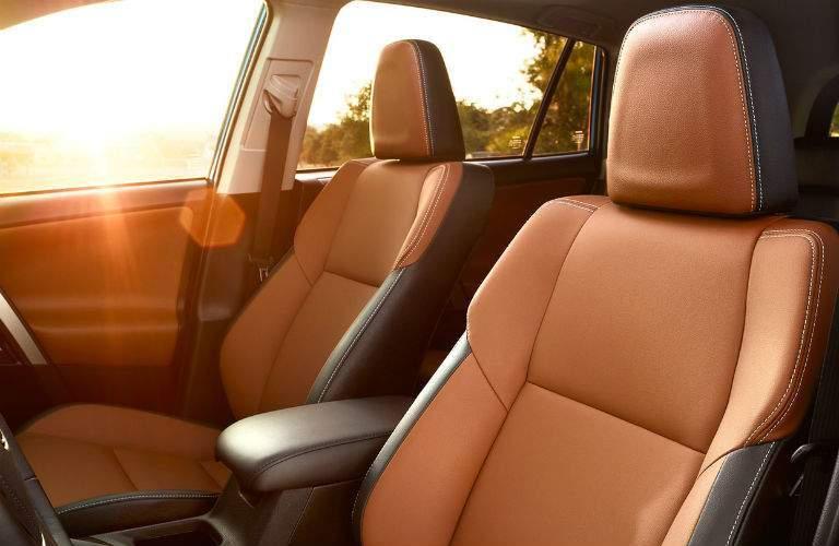 2018 Toyota RAV4 Interior Cabin Seating