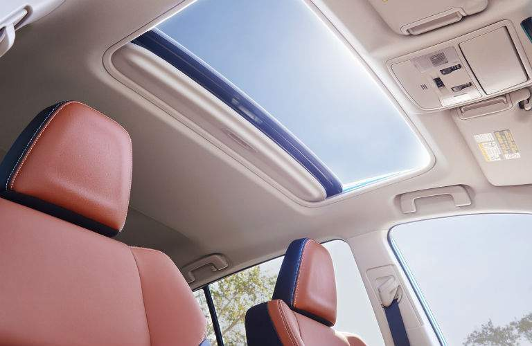 2018 Toyota RAV4 Interior Cabin Sunroof