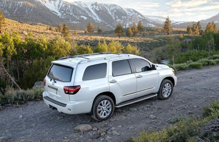 2018 Toyota Sequoia Exterior Passenger Side Rear