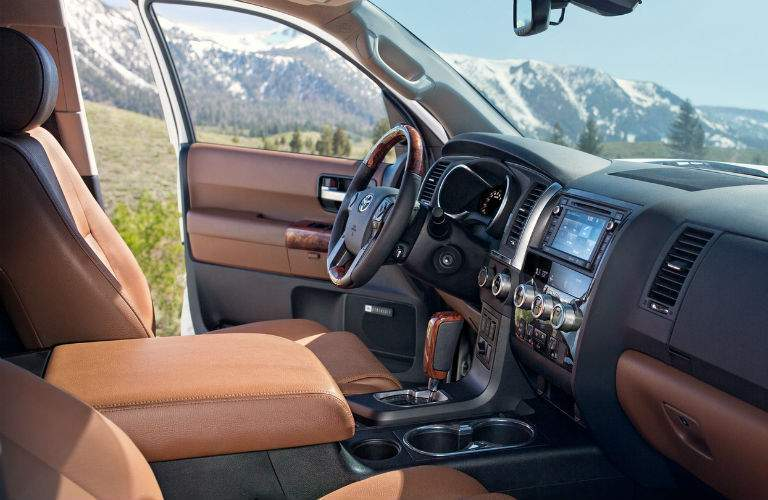 2018 Toyota Sequoia Interior Cabin Front Seats