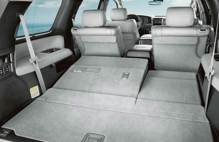 2018 Toyota Sequoia Interior Cabin Cargo Carea