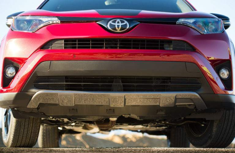 2018 Toyota RAV4 Adventure clearance and lift