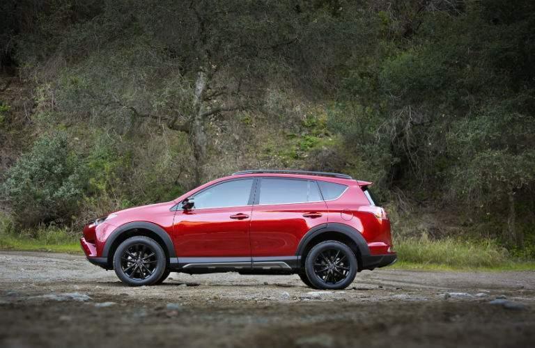 2018 Toyota RAV4 Adventure exterior shot