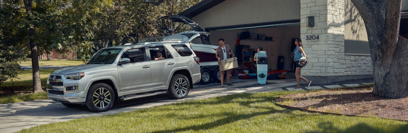 2019 Toyota 4Runner Exterior Driver Side Front Profile