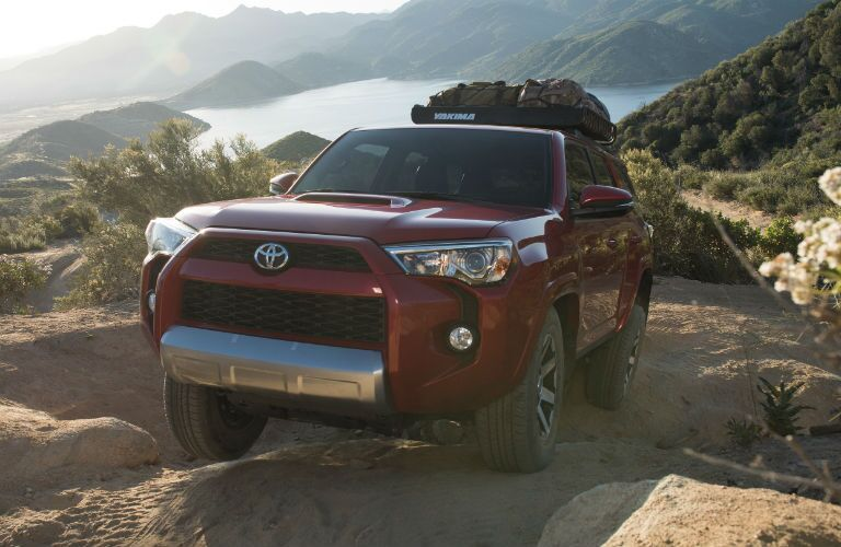 2019 Toyota 4Runner Exterior Driver Side Front Angle