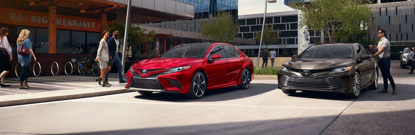 2019 Toyota Camry Exterior Driver Side Front Profiles