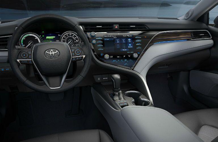 2019 Toyota Camry Hybrid Interior Cabin Dashboard