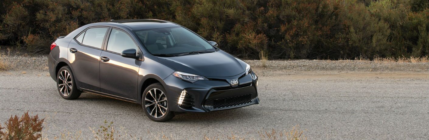 2019 Toyota Corolla Exterior Passenger Side Front Angle