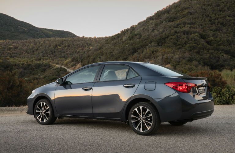 2019 Toyota Corolla Exterior Driver Side Rear Angle