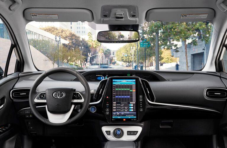 2019 Toyota Prius Prime Interior Cabin Dashboard