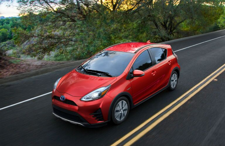 2019 Toyota Prius c Exterior Driver Side Front Aerial