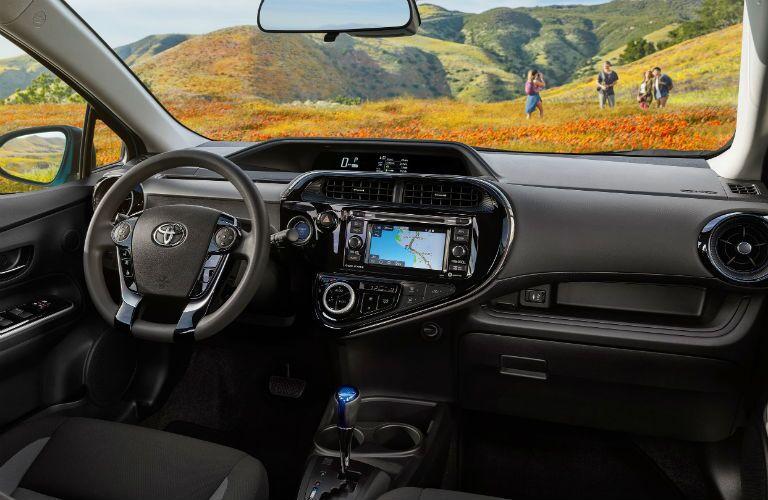 2019 Toyota Prius c Interior Cabin Dashboard