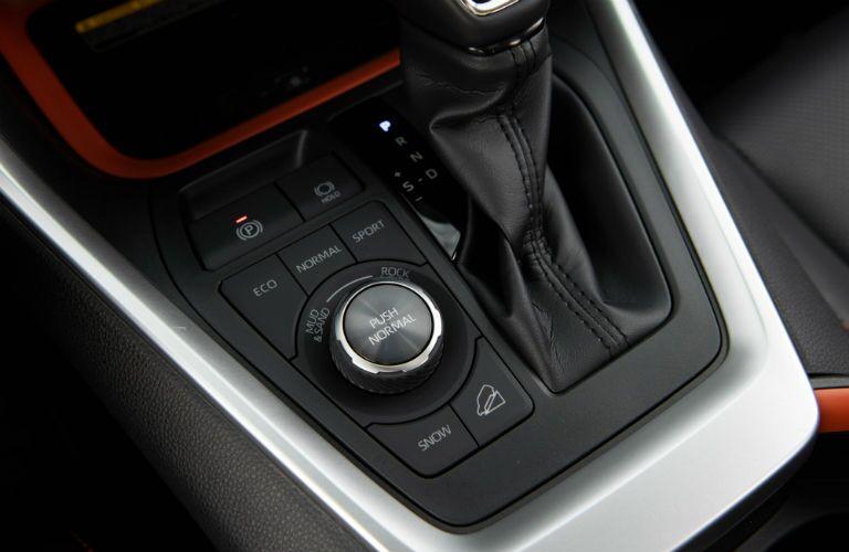 2019 Toyota RAV4 Adventure Interior Cabin Center Console Buttons & Shifter