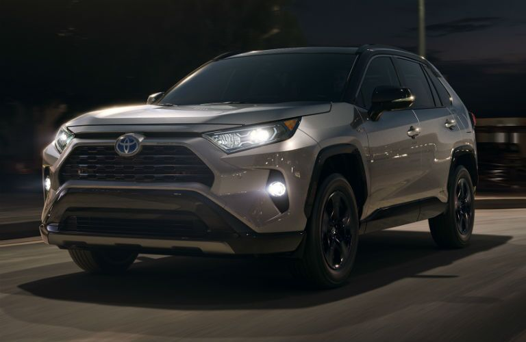 2019 Toyota RAV4 Hybrid Exterior Driver Side Front Angle