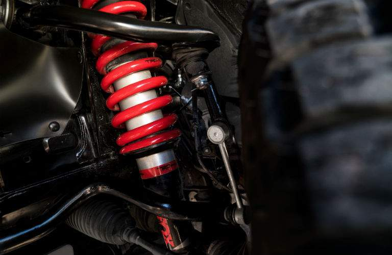 2019 Toyota TRD Pro Series Exterior Shocks