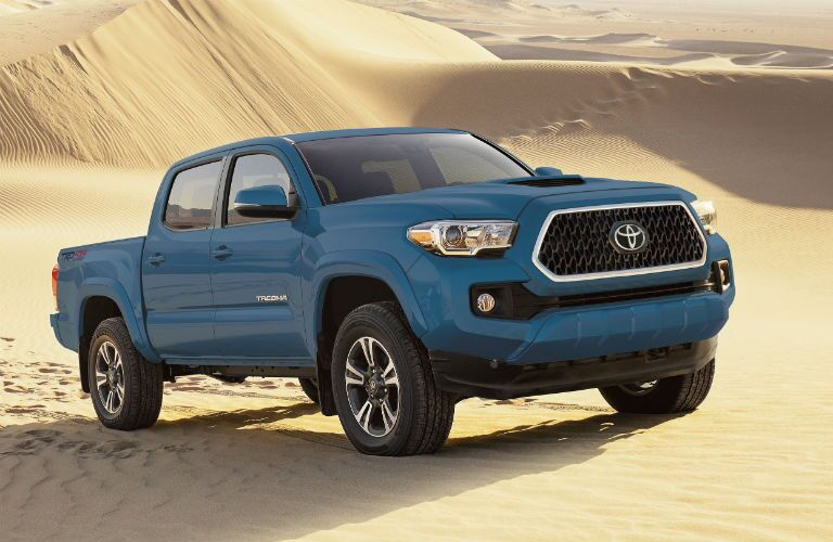 2019 Toyota Tacoma Exterior Passenger Side Front Angle