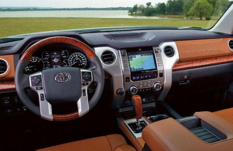 2019 Toyota Tundra Interior Cabin Dashboard