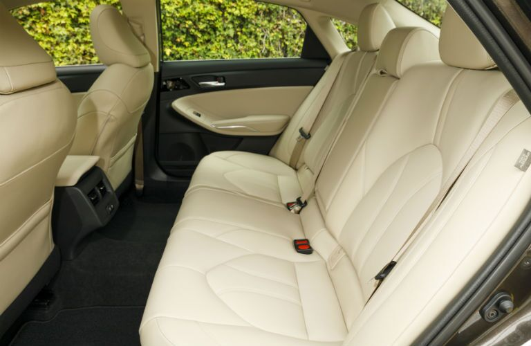 2019 Toyota Avalon Hybrid Interior Cabin Rear Seating