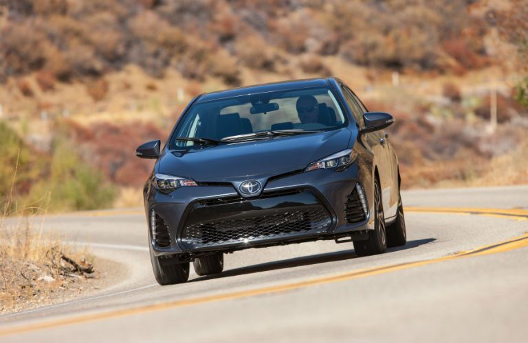 2019 Toyota Corolla Exterior Front Fascia in Motion