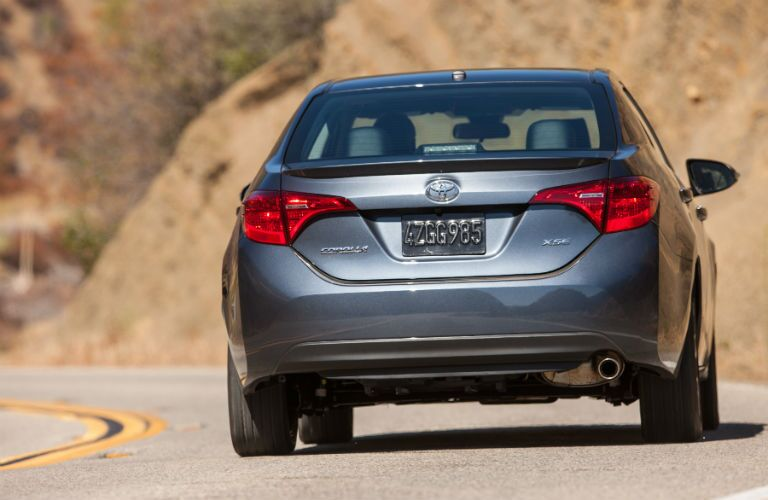 2019 Toyota Corolla Exterior Rear Fascia in Motion