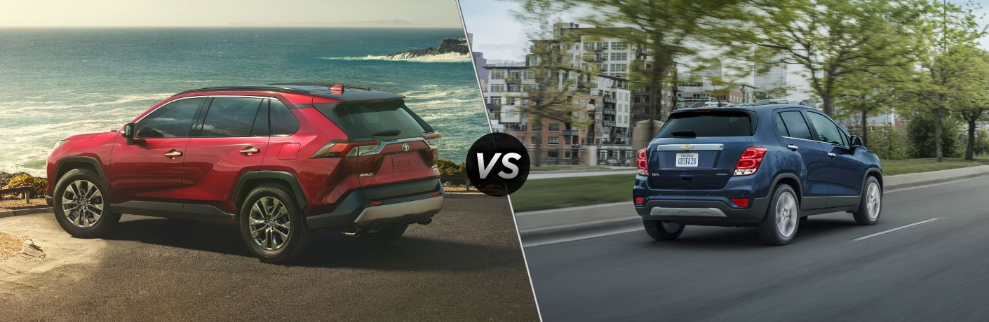 2019 Toyota Rav4 Vs 2019 Chevy Trax