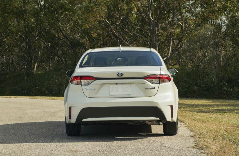 2020 Toyota Corolla Exterior Rear Fascia