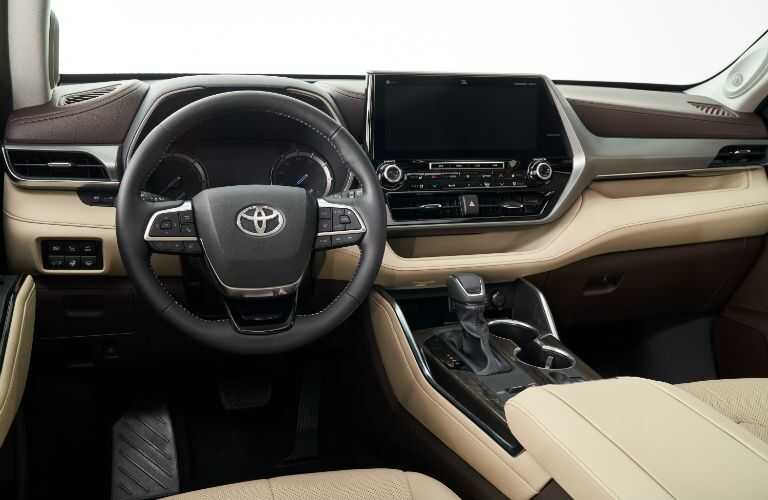 2020 Toyota Highlander Interior Cabin Dashboard