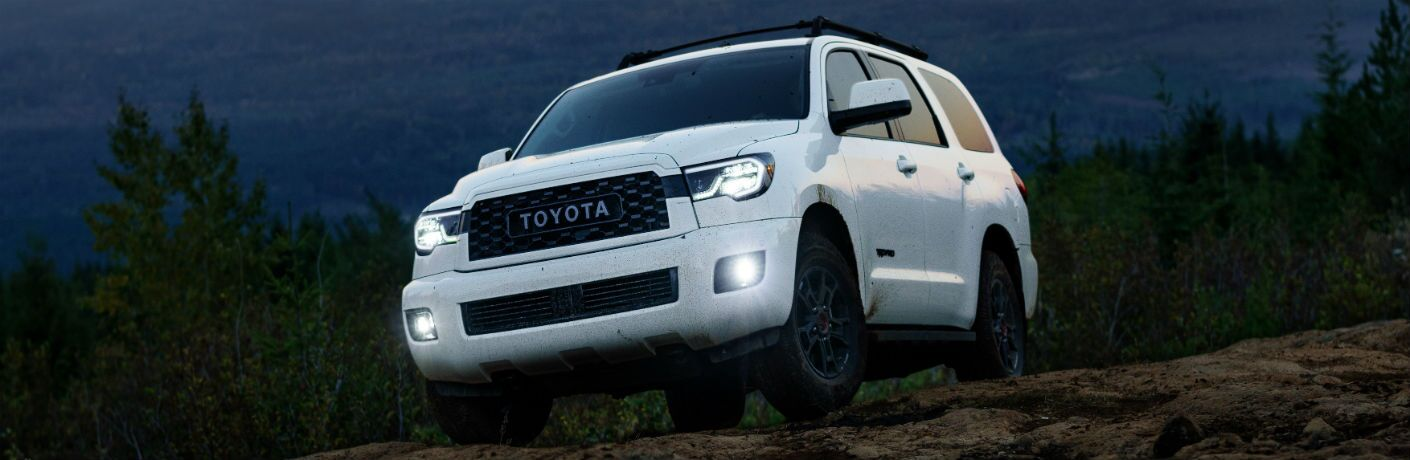 2020 Toyota Sequoia TRD Pro Exterior Driver Side Front Angle