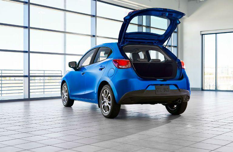 2020 Toyota Yaris Hatchback Exterior Driver Side Rear Profile Hatchback Open