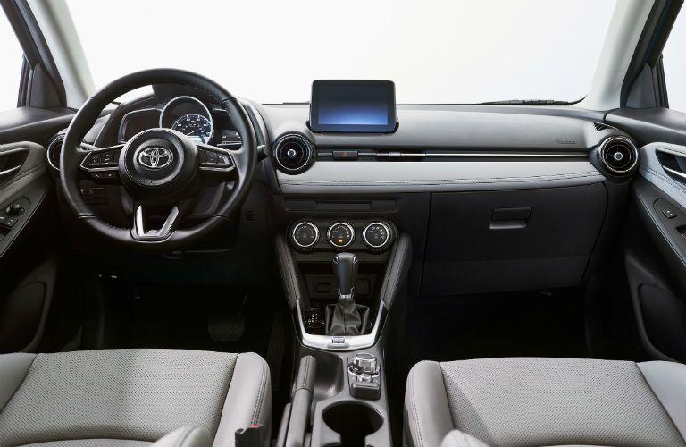 2020 Toyota Yaris Hatchback Interior Cabin Dashboard